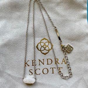 Kendra Scott Iridescent Drusy Ever Necklace